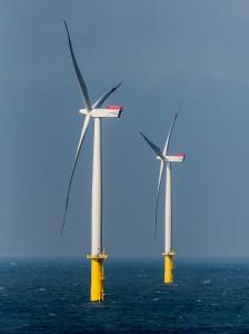 Siemens SWT-3.6-120 in Offshore wind farm Butendiek